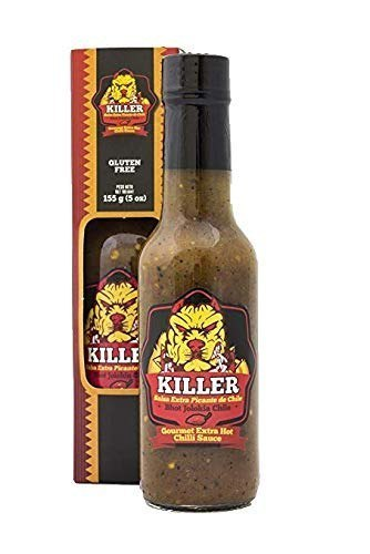 Blue Zone Killer Naga Bhut Jolokia Hot Sauce