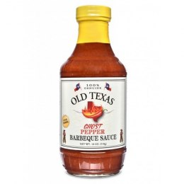 Old Texas BBQ Ghost Pepper Sauce