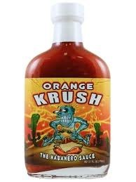 Orange Krush The Habanero Sauce