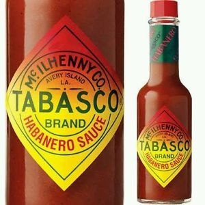 Tabasco Habanero Sauce 60ml